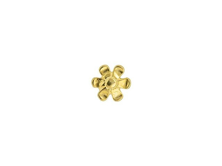 Cymbal Gerani 24K Gold-Plated Bead Substitute for 11/0 Miyuki Round, Bag of 10