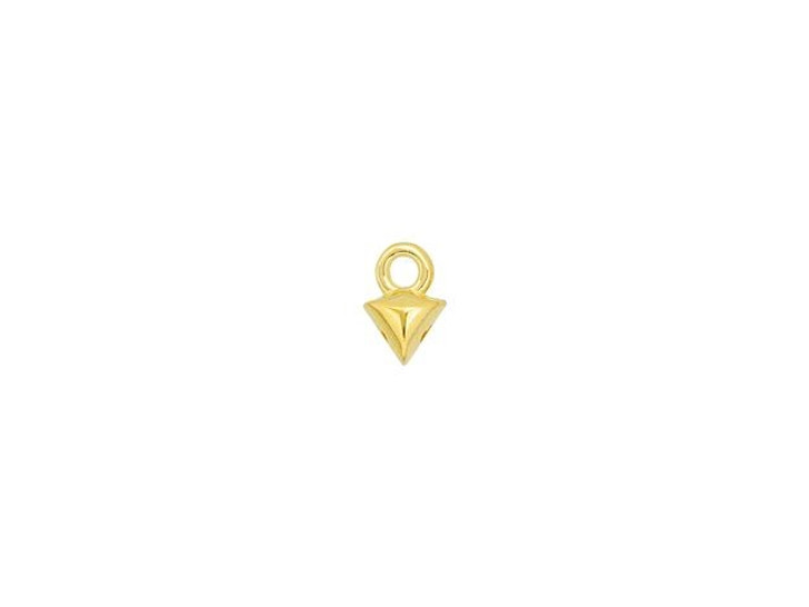 Cymbal Kleftiko 24K Gold-Plated Bead Ending for GemDuo, Bag of 20