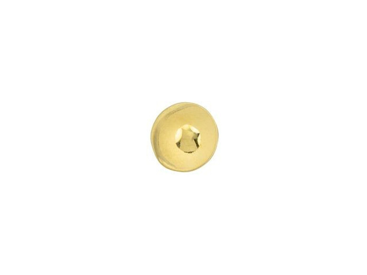 Cymbal Kymo 24K Gold-Plated Bead Substitute for 8/0 Miyuki Round, Bag of 10