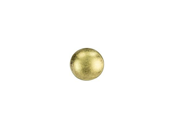 Cymbal Kymo Antique Brass-Plated Bead Subtitute For 8/0 Miyuki Round, Bag of 10