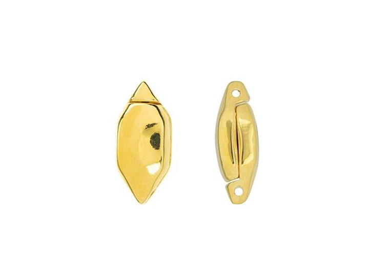 Cymbal Ralaki 24K Gold-Plated Magnetic Closure for GemDuo, Bag of 2