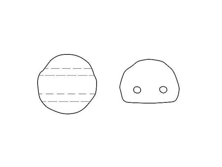Czech Glass 2-Hole 7mm Backlit Purple Haze Baroque Cabochon Beads 10g Bag