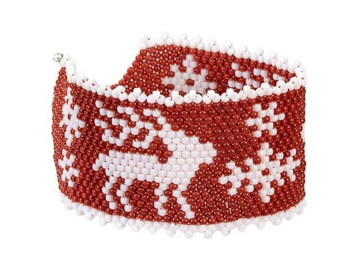 Nordic Christmas Reindeer Bracelet Kit
