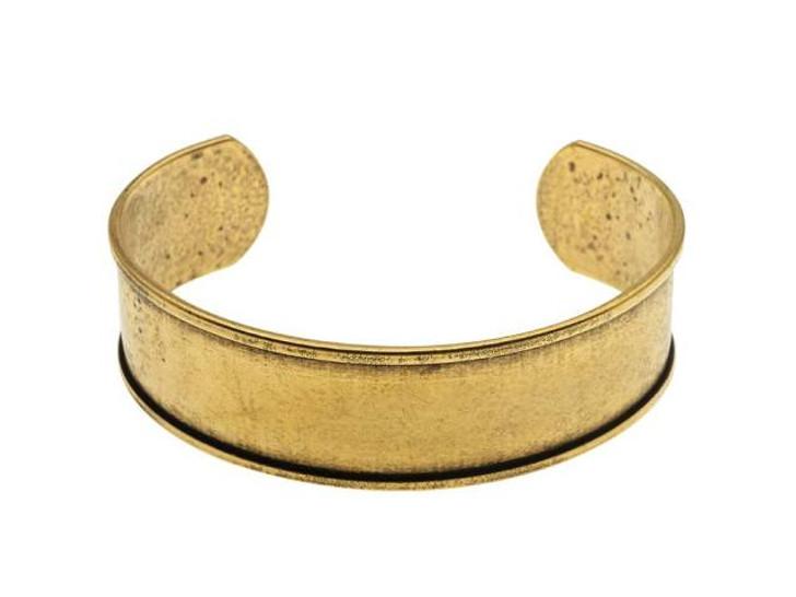 Nunn Design Antique Gold-Plated Pewter Cuff Bracelet