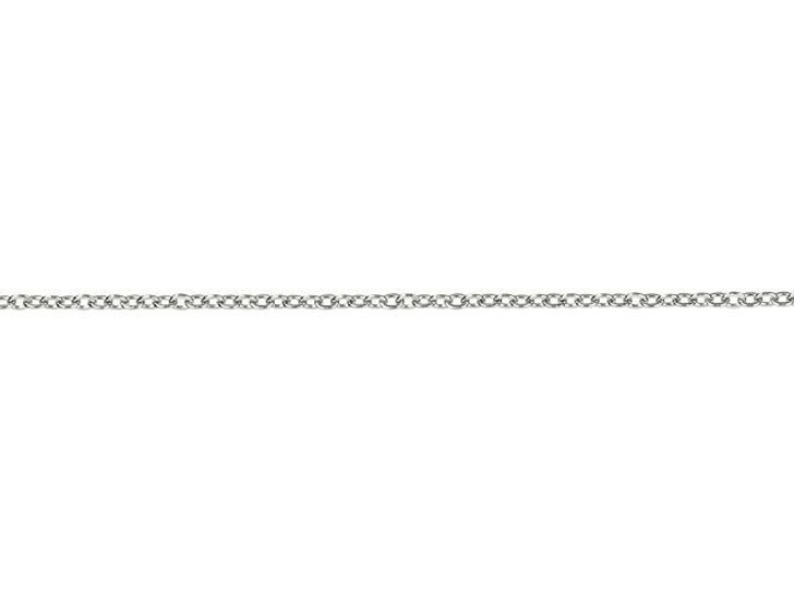 Stainless Steel 0.75mm Cable Chain By the Foot