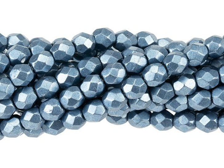 Color Trends Czech glass beads Cabochon 77061 2 hole cab26 Saturated Metallic Niagara CzechMates Bead 10-25 beads 7mm