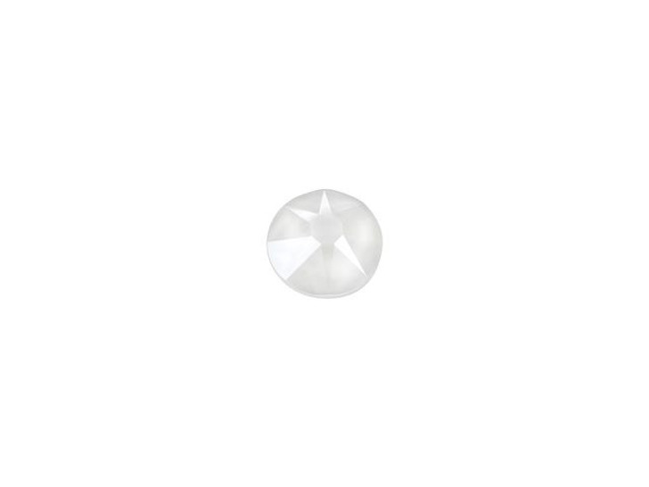 Swarovski 2088 SS12 XIRIUS Rose Flatback Crystal Electric White LacquerPRO