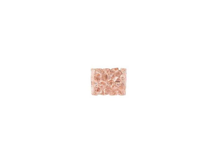 Swarovski 5951 8mm Vintage Rose Fine Rocks Tube Bead without Ending