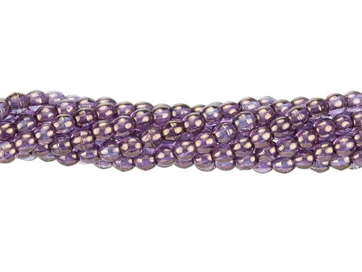 Czech Glass Round Beads Bronze Illusion 3mm (100pc pack) by Starman