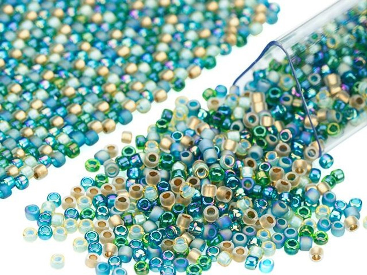 Artbeads Martinique Designer Blend, 15/0 TOHO Round Seed Beads