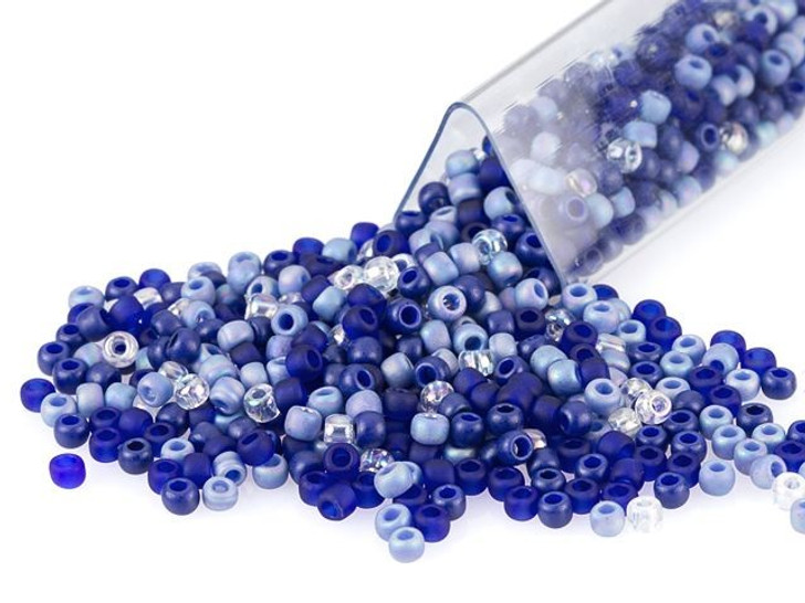 Artbeads Midnight Sparkle Designer Blend, TOHO 11/0 Round Seed Beads