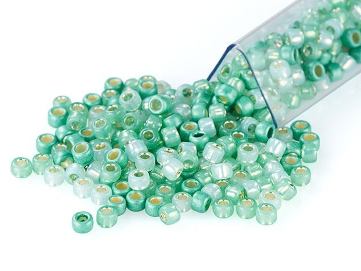 Artbeads Mint To Be Designer Blend, TOHO 8/0 Round Seed Beads