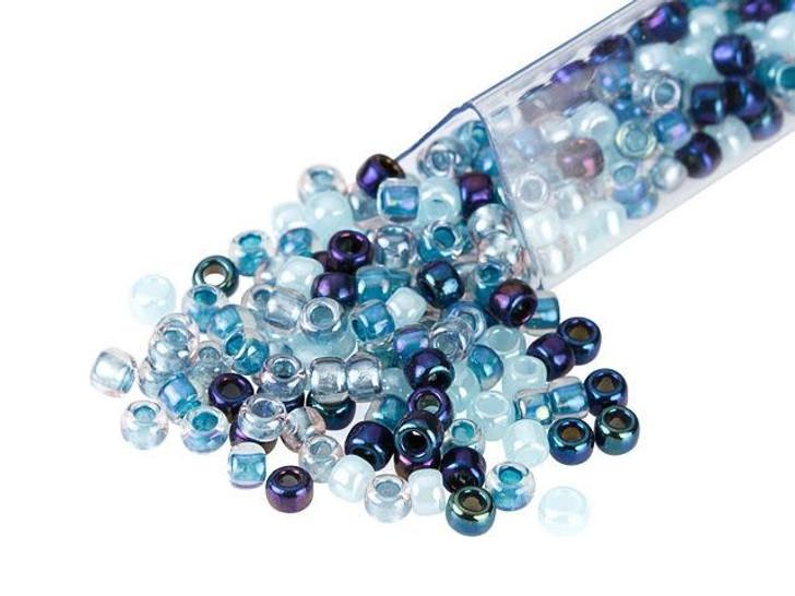 Artbeads Nordic Blues Designer Blends, TOHO 8/0 Round Seed Beads