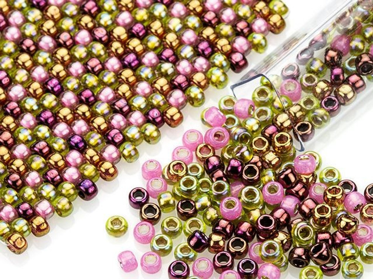 Artbeads Orchid Designer Blend, 8/0 TOHO Round Seed Beads