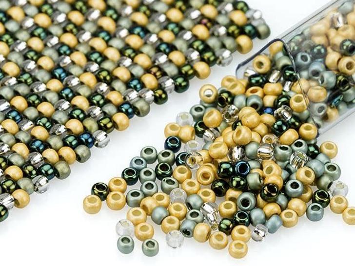 Artbeads Pacific Kelp Designer Blend, 11/0 TOHO Round Seed Beads