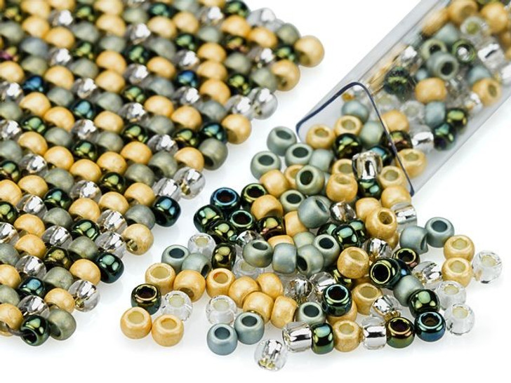 Artbeads Pacific Kelp Designer Blend, 8/0 TOHO Round Seed Beads