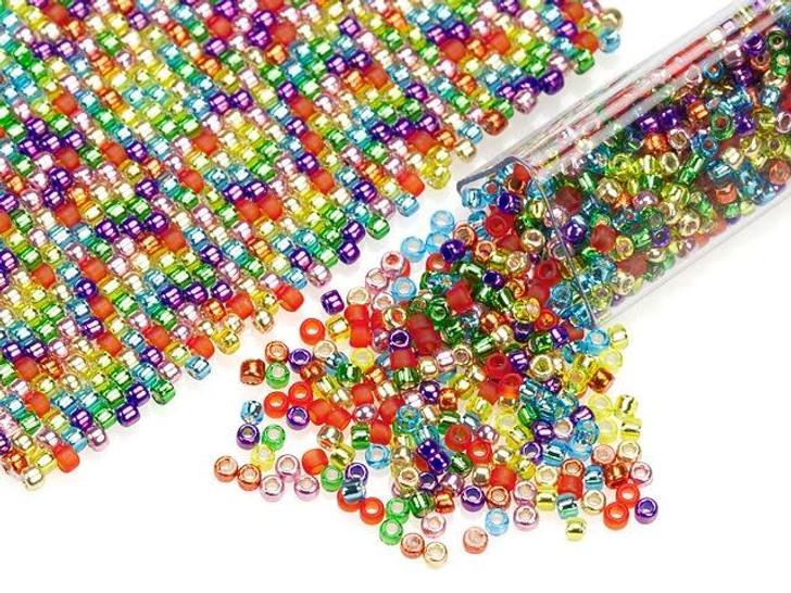 Artbeads Rainbow Designer Blend, 15/0 TOHO Round Seed Beads