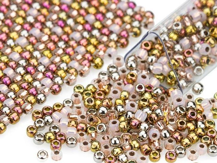 Artbeads Ring Around the Rosy Designer Blend, 11/0 TOHO Round Seed Beads