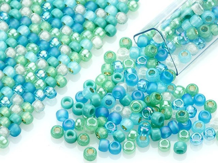 Artbeads Seabreeze Designer Blend, 8/0 TOHO Round Seed Beads