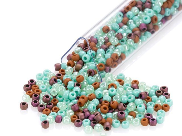 Artbeads Southwest Flair Designer Blend, 11/0 TOHO Round Seed Beads