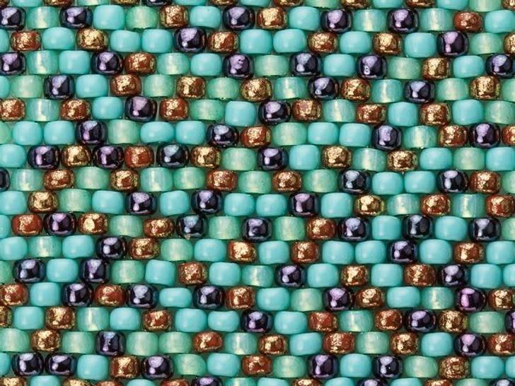 Artbeads Southwest Sunset Designer Blend, 8/0 TOHO Round Seed Beads