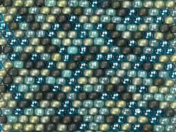 Artbeads Swanky Sage Designer Blend, 8/0 TOHO Round Seed Beads