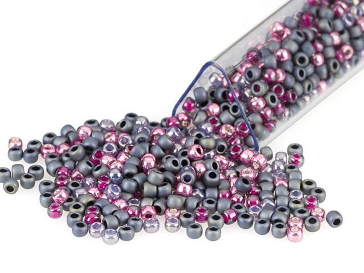Artbeads Sweet Slate Designer Blend, 11/0 TOHO Round Seed Beads