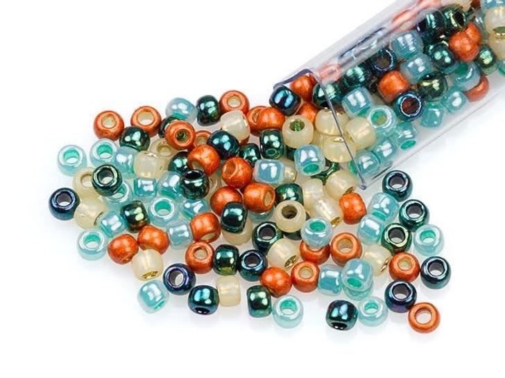 Artbeads Tucson Sunset Designer Blend, 8/0 TOHO Round Seed Beads