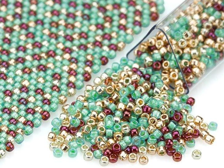 Artbeads Turquoise Trail Designer Blend, 15/0 TOHO Round Seed Beads