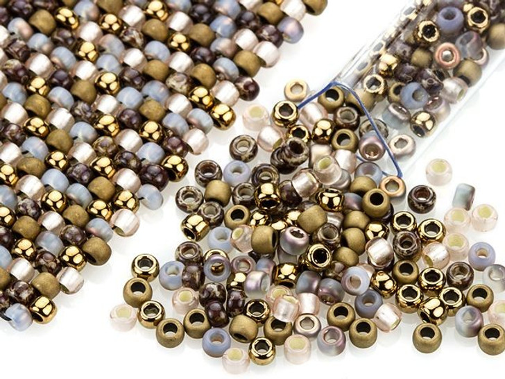 Artbeads Under the Boardwalk Designer Blend, 8/0 TOHO Round Seed Beads