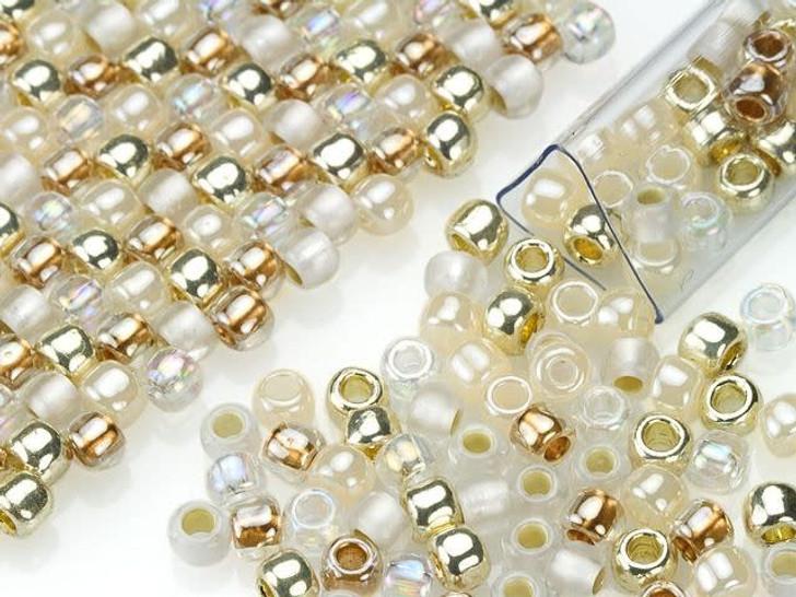 Artbeads Vintage Wedding Designer Blend, 6/0 TOHO Round Seed Beads