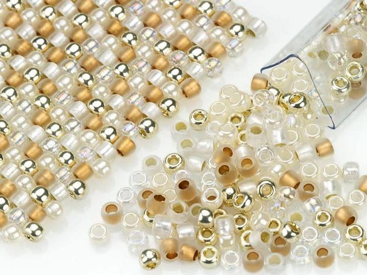 Artbeads Vintage Wedding Designer Blend, 8/0 TOHO Round Seed Beads