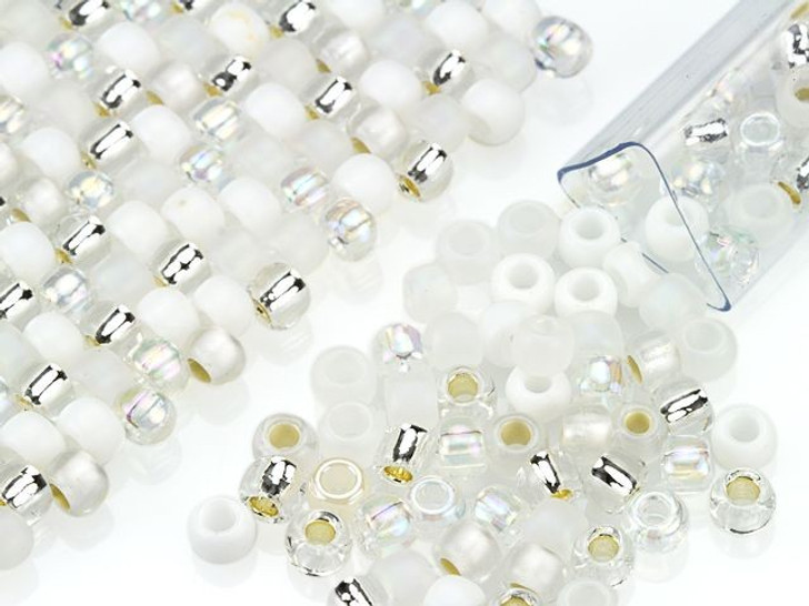 Artbeads Winter Designer Blend, 6/0 TOHO Round Seed Beads