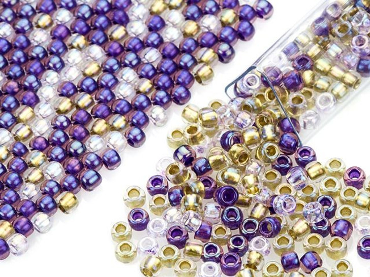Artbeads Wisteria Designer Blend, 8/0 TOHO Round Seed Beads