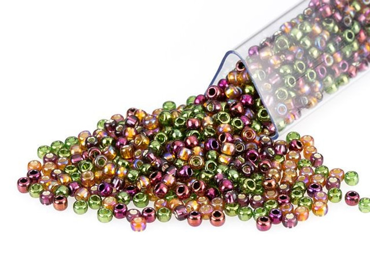 Artbeads Woodland Beauty Designer Blend, TOHO 11/0 Round Seed Beads