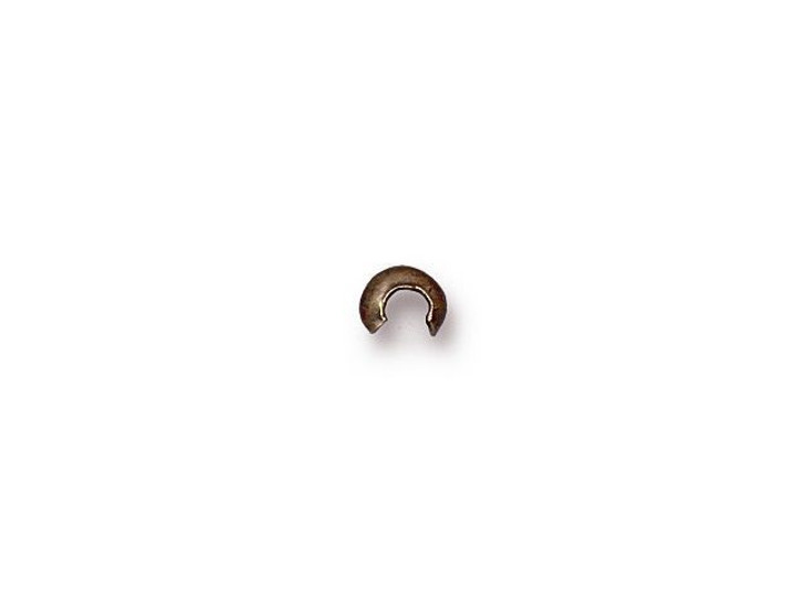 TierraCast Brass Oxide 3mm Crimp Cover