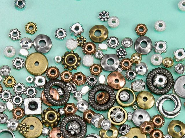 Spacer & Heishi Beads