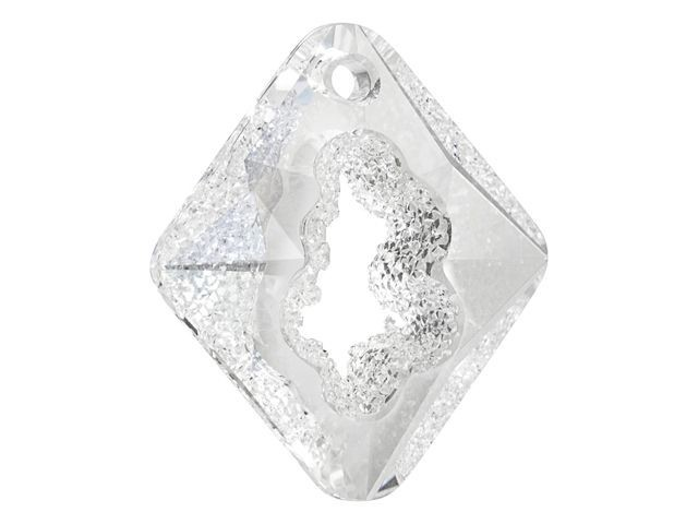 6926 Growing Crystal Rhombus Pendant