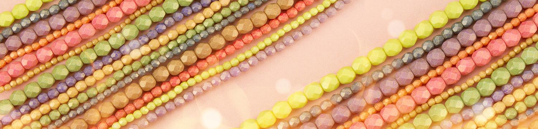 Fire-Polish Beads on Sale