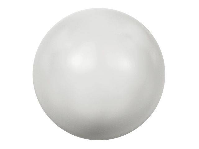 5818 Half-Drilled Crystal Pearl