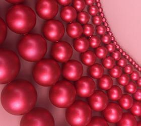 Swarovski Crystal Rouge Pearls