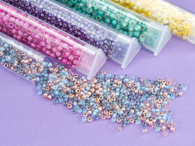 Designer Seed Bead Blends