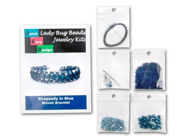 Rhapsody in Blue Woven Bracelet Kit