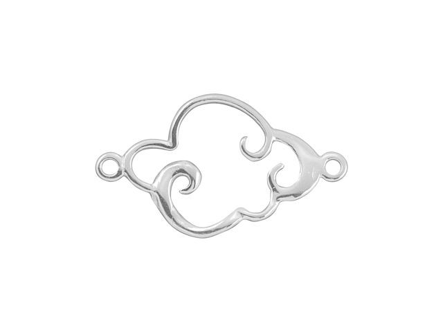 Amoracast Exclusive Sterling Silver Sprig Bail