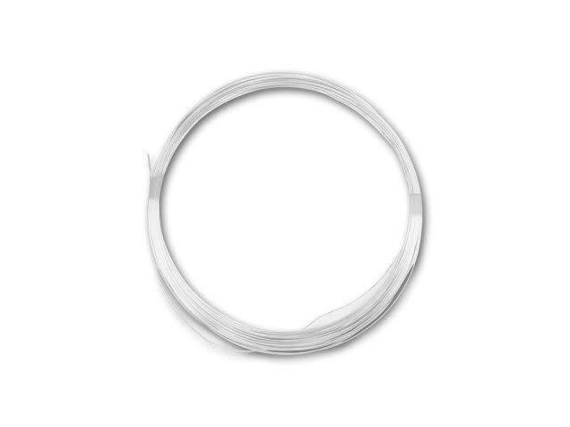 Approx 50ft 925 Sterling Silver HALF ROUND Wire 21g .72mm Half Hard 1oz