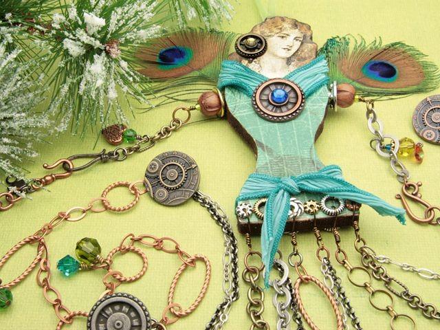 Gloria Christmas Ornament & Garland