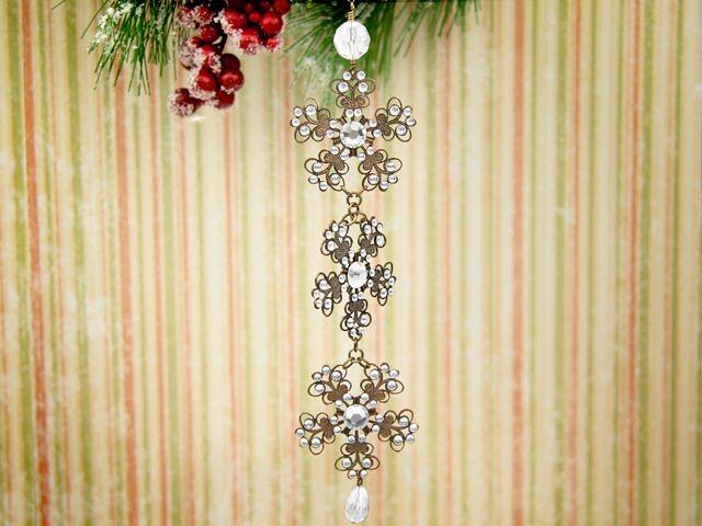 Victorian Snowflake Ornament