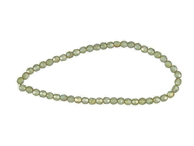 Grey//White Glass Cat/'s Eye Round Beads 4mm 95 Pcs Art Hobby Jewellery Making