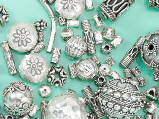 Bali & Hill Tribe Silver Beads