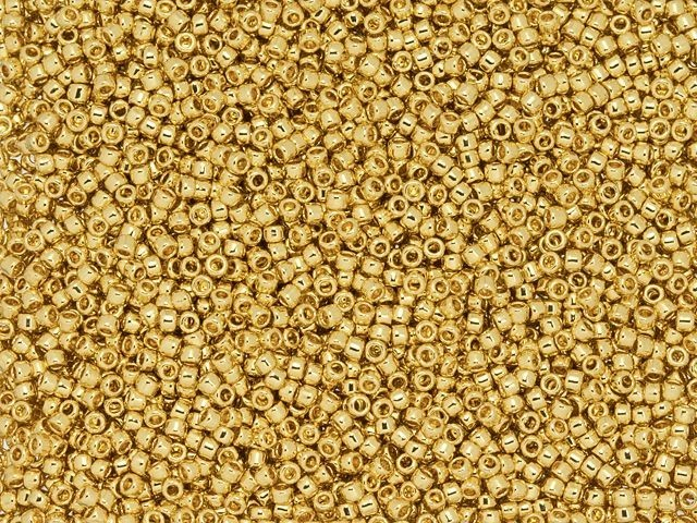 TOHO Gold-Plated Beads